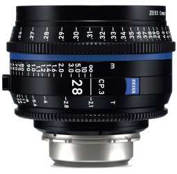 Zeiss CP.3 28mm Cine Lens
