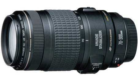 Canon 70-300mm f4-5.6 IS USM Lens