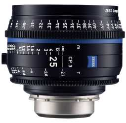 Zeiss CP.3 25mm Cine Lens